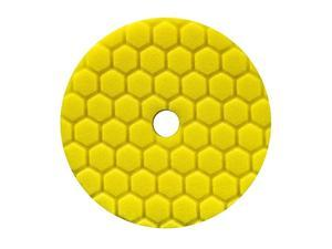 BUFX111HEX6 Hex-Logic Quantum Heavy Cutting Pad, Yellow (6.5 Inch Pad made for 6 Inch backing plates)