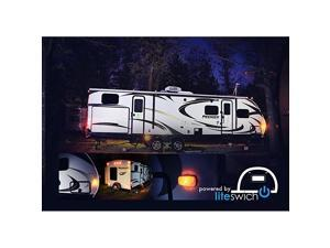 on Your Camper Lights RV Lights with LITESWICH 2.0 Camping Accessories