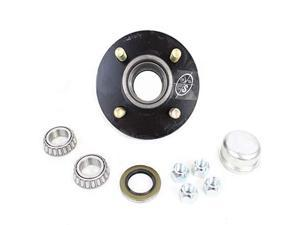 4hole 4quot Bolt Circle Idler Hub for 2000 lb Axles BT8 Spindle