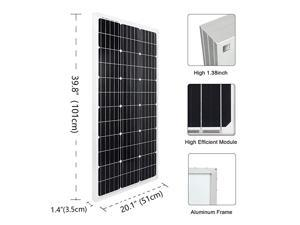 200 Watts Solar Panel Kit for RV, Camper, Vehicle, Caravan and Any Other Off Grid Applications