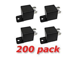 Volt 30 40A SPDT Bosch Style Automotive Relays (200 Pack)
