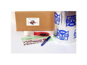 Self-Adhesive Sound Deadener Bulk Pack with Install Kit - 75 Sq Ft x 50 mil Thick