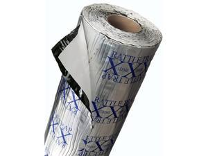 Self-Adhesive Rattletrap Sound Deadener Bulk Pack with Install Kit - 50 Sq Ft x 80 mil Thick