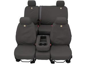 SSC8375CAGY Carhartt SeatSaver Second Row Custom Fit Seat Cover for Select Chevrolet/GMC Models - Duck Weave (Gravel)