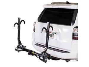 Superclamp Bike Hitch Car Rack, 2 to 4 Bike Sizing Option, Plus Cargo and Hd/Rv Compatible Options, Hatch Access, Easy Fold, Integrated Locks and Reflectors