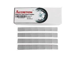 1/2 Oz, 0.5 Oz, 90oz(180pcs), Grey, Wheel Weights (Lead Free). USA Made White Tape, Easy to Peel. Low Profile, 5.6 Lbs.