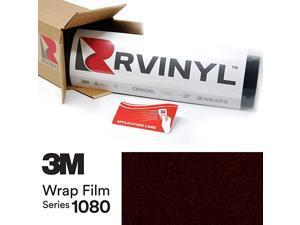 2080 GP282 Gloss Ember Black 5ft x 21ft W/Application Card Vinyl Vehicle Car Wrap Film Sheet Roll