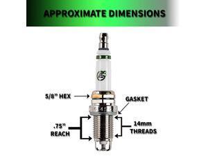 Spark Plug .48 Automotive Spark Plug