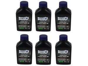50:1 - 2-Cycle Oil Mix Synthetic Blend 6.4 oz Pack of 6