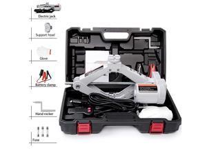 Electric Car Jack Car Floor Jack 2 Ton All-in-one Automatic 12v Scissor Lift Jack Car Repair Tool for Sedans