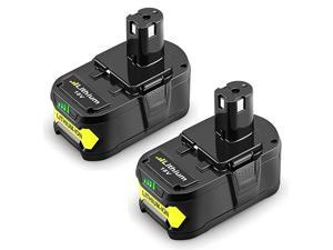 2Pack 50Ah 18V Replacement Battery for Ryobi 18V Lithium Battery P102 P103 P105 P107 P108 P109 Ryobi ONE+ Cordless Tool