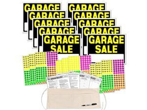 Sale Sign Kit with Pricing Stickers and Change Apron A508G