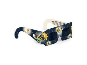 Solar Systems Junior Size Premium CE amp ISO Certified Eclipse Glasses Pack of 4