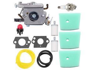 C1QEL24 Carburetor Tune Up Kit for Husqvarna 123C 123L 123LD 223L 223R 322C 322L 322R 323C 323L 325C 325CX 325L 325LX 326C 326L 326LX String Trimmer Brushcutter Pole Saw Edger