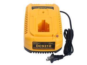 18V DC9310 Fast Battery Charger Replacement for Dewalt 72V18V NiCad NiMh Battery XRP DC9096 DC9099 DW9099 DW9095 DW9096 DW9098 DC9098 DW9091 DC9091 DW9072 DW9061 DeWalt 18V Battery Charger