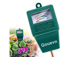 Soil Moisture Meter Plant Moisture Meter Indoor amp Outdoor Hygrometer Moisture Sensor Soil Test Kit Plant Water Meter for Garden Farm Lawn No Battery Needed