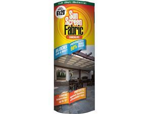 Sun Screen Fabric Reduces Temperature Up to 15 Degrees Provides 75 More Shade Chocolate Brown Shade Fabric 6 Feet x 20 Feet