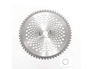 10 inch 80T Carbide Tip Blade with Washer Adapter Brush Cutter Trimmer Weed Eater Blade