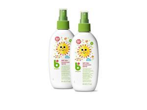 Sunscreen Spray 50 SPF 6oz 2 Pack Packaging May Vary