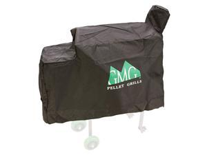 3001 Daniel Boone Outdoor BBQ Grill Protective HeavyDuty WeatherResistant Canvas Cover Black