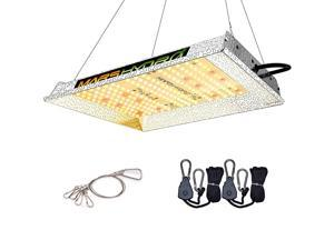 TS 600W LED Grow Light 2x2 ft Sunlike Full Spectrum Led Grow Lamp Plants Growing Lights for Hydroponic Indoor Seeding Veg and Bloom Greenhouse Growing Light Fixtures Four for 4x4 Coverage