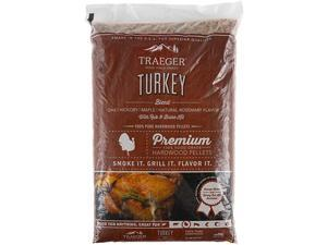 Grills PEL329 Turkey Blend 100 AllNatural Hardwood Pellets Grill Smoke Bake Roast Braise and BBQ 20 lb Bag