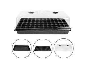 Starter Kit 72 Cell ing Trays with Humidity Dome2 Pack 1020 Tray Plug Tray Starting Trays for ling Germination