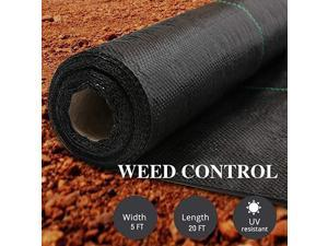 Landscape Fabric 5x20 FT Heavy Duty Ground Cover
