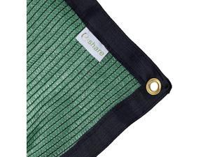 70 Green Shade Cloth Taped Edge with Grommets 12 ft X 12 ft