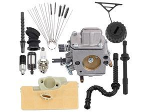 MS390 MS290 MS310 Carburetor with Air Filter Fuel Line Repower Kit for Stihl MS290 MS310 MS390 029 039 Chainsaw Carb Replace 1128 120 0625