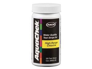 652013 High Range Chlorine Test Strips