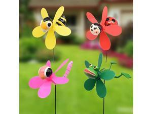 tle Garden Wind Spinners Pinwheels Whirlygigs Dragonfly Stakes Decorations Outdoor Lawn Decorative Yard Decor Patio Accessories Windmills Ornaments Gardening Art Christmas Whimsical Gifts