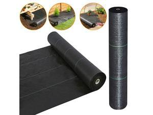 Heavy Duty Weed Barrier Landscape Fabric for Outdoor Gardens Non Woven Weed Blockr Fabric Garden Landscaping Fabric Roll Weed Control Fabric in Rolls5FTX250FT