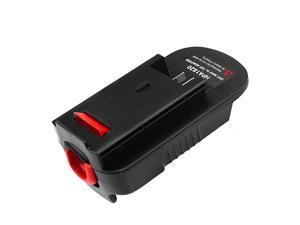 Adapter for Black Decker 18V Tools Convert Black Decker and Porter Cable 20V Lithium LBXR2020 for Black Decker 18V NiCad NiMh Tools HPB18 HPB18OPE2