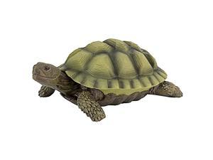 QM1887611 Gilbert the Box Turtle Garden Decor Animal Statue 9 Inch Full Color