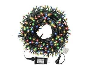 105ft 300 LED Christmas String Lights EndtoEnd Plug 8 Modes Christmas Lights UL Certified Outdoor Indoor Fairy Lights Christmas Tree Patio Garden Party Wedding Holiday Colored