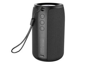 Mini Portable Bluetooth Speakers  S32 TWS Wireless Speaker IPX5 Waterproof Upto 12H Playtime MIC HD CallsMicro SD CardU DiskLinein Modes Competible for iOS Andriod Black