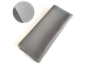 Grill Cloth Stereo Mesh Fabric for Repair Silver Gray 55 x 40 in 140 x 100 cm
