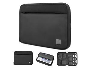 Tablet Sleeve Bag for 105 iPad Air 105 iPad Pro 102 New iPad 2019 Double Layers Business Organizer Bag for TabletPhoneMouse and More Electronic Accessories