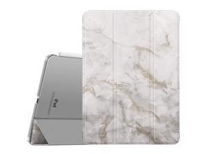 Case Fit iPad Pro 11 2nd Gen 2020 2018 Support Apple Pencil Charging Slim Lightweight Translucent Shell Protective Smart Cover Case Fit iPad Pro 11 20202018 Auto WakeSleep Gray Marble