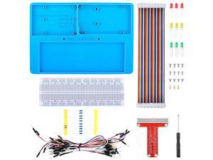 Raspberry Pi 4 B Holder Breadboard Kit 7 in 1 RAB Holder kit Compatible for Arduino Mega 2560 amp Raspberry Pi 3 Model B 2 Model B1 Model B+ RPI Zero and Zero W