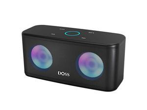 Bluetooth Speakers  SoundBox Plus Portable Wireless Bluetooth Speaker with 16W HD Sound and Deep Bass Wireless Stereo Pairing 20H Playtime Wireless Speaker for Home Outdoor Travel Black
