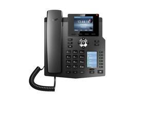 X4G Gigabit SIP Enterprise Desktop Phone with DualColor LCD Display