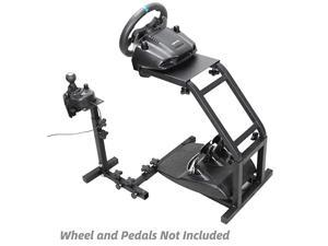 Racing Wheel Stand with V2 Support Game Support Stand Up Simulation Driving Bracket for Logitech G29 G27 and G25 Racing Simulator Steering Wheel Stand Without Wheel and Pedals