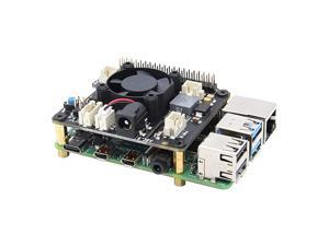 Raspberry Pi X710 Power Management Board with Wide Voltage Input6V to 36V Safe Shutdown and Cooling Expansion Board for Raspberry Pi 4 Model BPi 3B+3B3A+