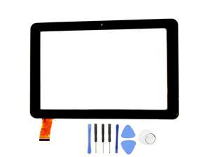 R New Touch Screen Panel digitizer Replacement for 8 inch EPIK Learning Tab ELT0801PK Kids with SlyPry Opening Tool kit