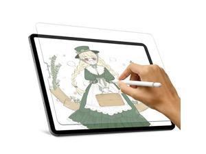 Paper Screen Protector for iPad Pro 12.9 (2021 & 2020 & 2018) Homaigcal High Touch Sensitivity Screen Protector for iPad Pro 12.9,Compatible with Apple Pencil, Scratach Resistant/Matte PET Film