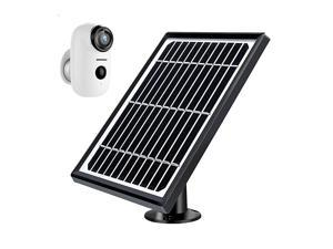 Solar Panel Power Supply for  Rechargeable Battery Wireless Security Camera A3A3P No Camera