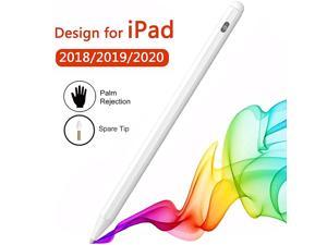 Pen for iPad Compatible with Apple Pencil 2 Generation for iPadPro 201820192020 with Palm Rejection White