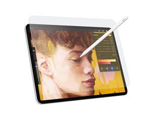 """PET Clear Screen Protector Compatible with iPad Pro 11"""" 2021/2020/2018, Anti-Glare Feature Makes Writing Same Like on Paper Support Face ID for iPad Pro 11-inch Tablet - Clear"""